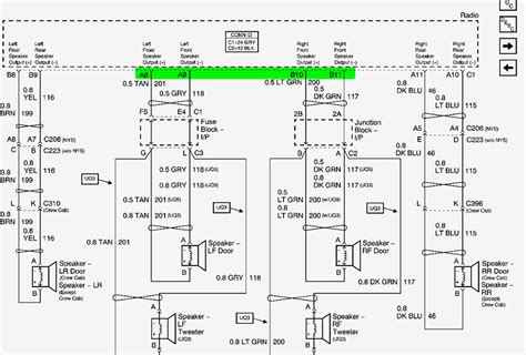 2005 gmc radio wiring diagram wiring diagrams