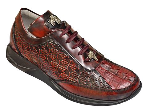 mauri sneakers for mauri 8658 1 ruby genuine hornback crocodile brushed