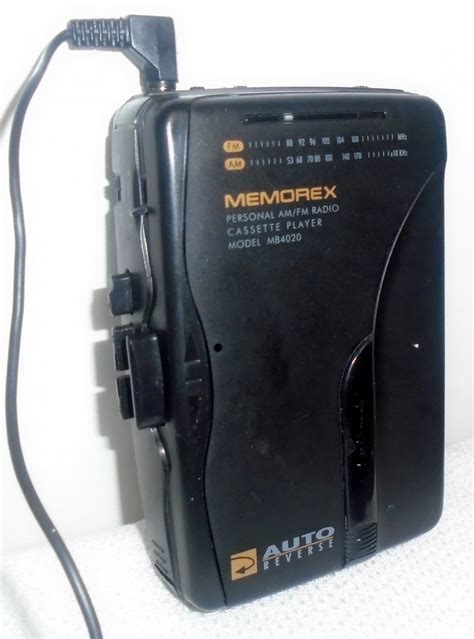 memorex cassette memorex am fm cassette player portable mb4020