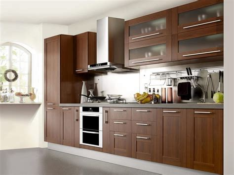 Modern Wood Kitchen Cabinets Modern Wood Kitchen Cabinets And Inspirations Wooden With Glass Doors For Beautiful Savwi