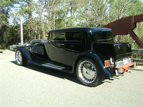 roll royce rod 1931 bugatti royale rolls royce bentley hotrod streetrod
