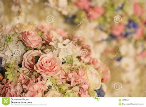 Beautiful Flower Decoration by Beautiful Flower Decoration For Wedding Reception Stock