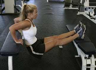 weighted bench dip all about health tricep exercises weighted bench dip