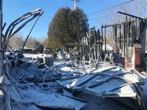 belgrade boat shop pre dawn fire destroys boat shop in belgrade