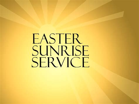 easter sunday service decorations image gallery sunrise service
