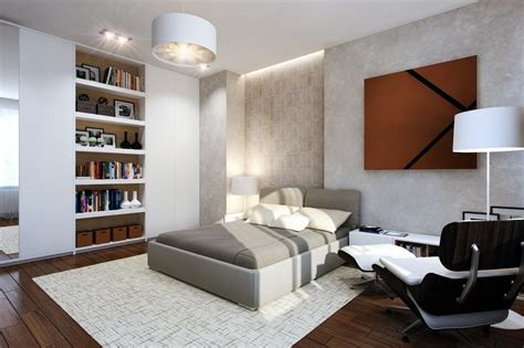 recessed bookcases in bedroom home inside space small bedrooms use space in a big way