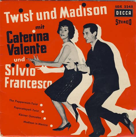 caterina valente peppermint twist 45cat caterina valente und silvio francesco twist und