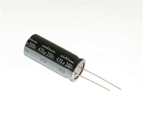 capacitor electrolitico 470uf 200v 28 images kmh200vnsn471m22x40 ucc capacitor 470uf 200v