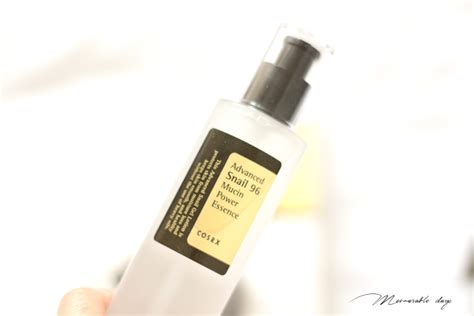 Cosrx Snail 96 All In One review cosrx advanced snail 96 mucin power essence all in one memorable days