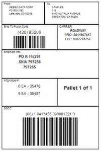 pallet label template gs1 label pictures to pin on pinsdaddy