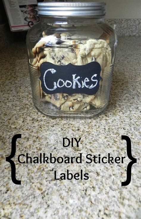 diy chalkboard sticker diy chalkboard sticker labels