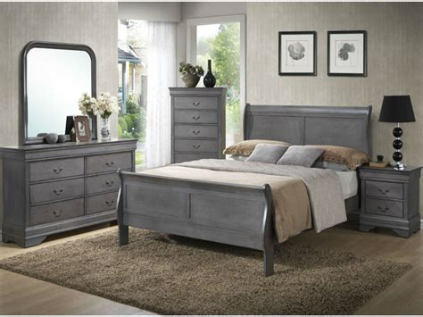 louis philippe bedroom set lifestyle 4934 louis philippe gray 5 pc king bedroom set