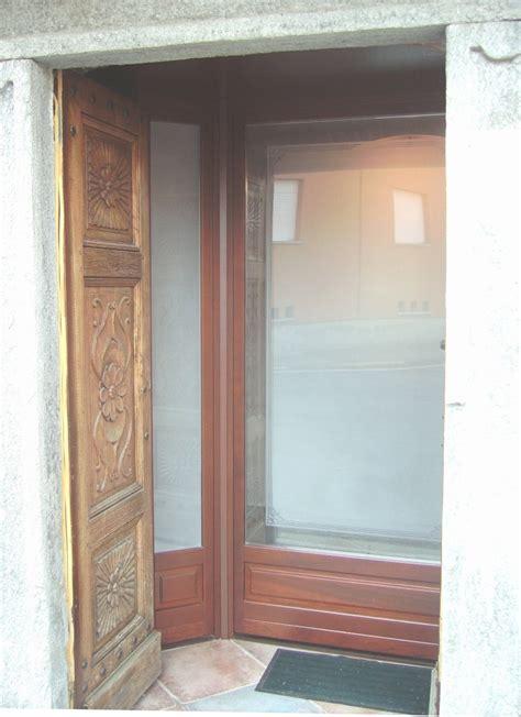 bussola ingresso bussola ingresso in legno pannelli termoisolanti