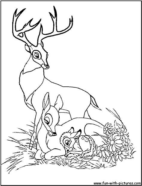 ausmalbilder f 252 r kinder malvorlagen und malbuch bambi