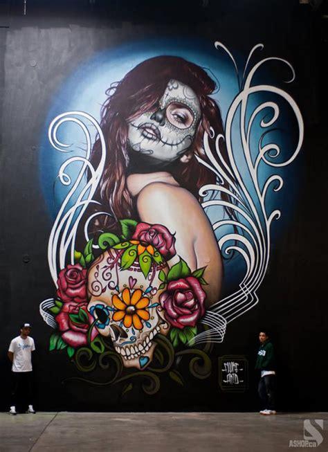 imagenes urbanas graffitis nombre julian maestros del graffiti transforman paredes en imponente