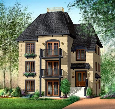 multifamily house plans multi family plan 49817 home cream and bathroom