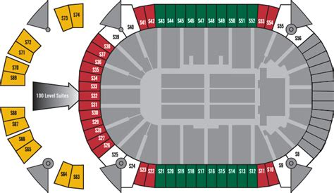 xcel energy center seating map image gallery xcel seating chart