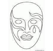 Mascaras Carnaval Venecia 001  Dibujos Y Juegos Para