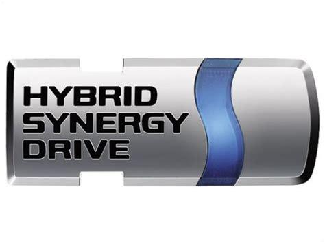 toyota hybrid logo auto mobile hybrid synergy drive