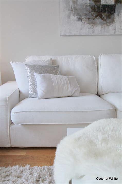 white sofa pinterest coconut white ikea kivik sofa white my blog coconut