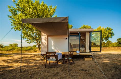 tiny house vacation home this designer made her own tiny vacation home on wheels