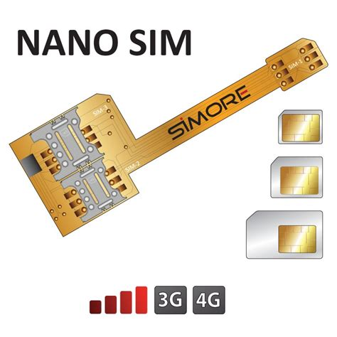 Hybrid Sim Card Converter To Nano Sim Card Konektor Kartu S x nano sim dual sim adapter for nano sim