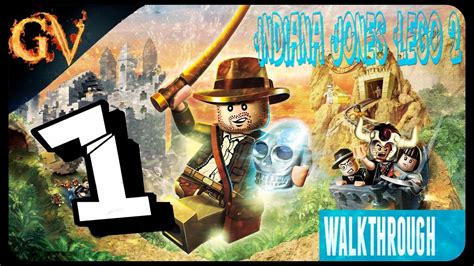 tutorial lego indiana jones 2 psp indiana jones lego 2 walkthrough psp part 1 youtube