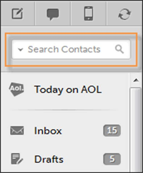 Search Aol Email Address That S It You Ll See A List Of Contacts Matching The Person Or Email Address You