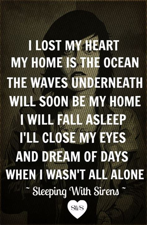 sleeping with sirens quotes depression sleeping with sirens quotes quotesgram