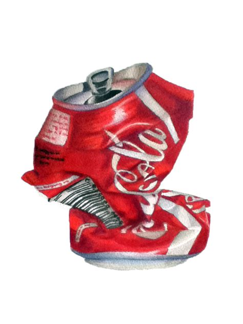 crushed by crushed coke can study by katnevershutsup on deviantart