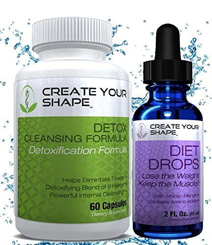 Blood Purifier Detox Drops by Create Your Shape Detox Cleanse With Diet Drops Power