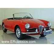 Classic 1956 Alfa Romeo Giulietta Spider 750D Restored