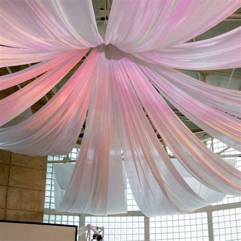 home decor hanging ceiling hanging fabric from ceiling ideas decorating with sheer