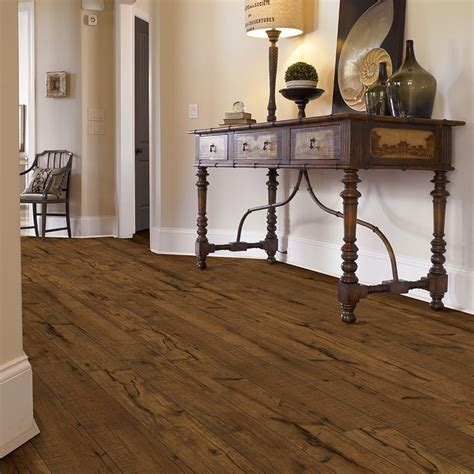 shop style selections walnut wood planks laminate sle at lowes com 1000 images about flooring on pinterest waterproof