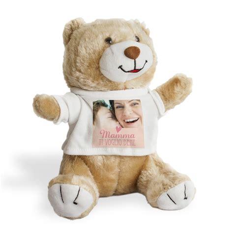 cuore di mamma orsetto teddy peluches personalizzato cuore di mamma