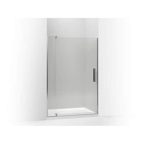 Kohler Shower Doors Parts Kohler 707551 L Shp Sales At Bathworks Instyle Pivot Shower Doors In A Decorative Bright