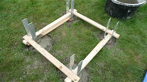 Bodenanker Ohne Beton by Einen Spielturm Aufbauen Verband Wohneigentum E V