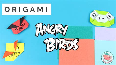 Origami Angry Birds - origami angry birds thumbnail 187 origamitree