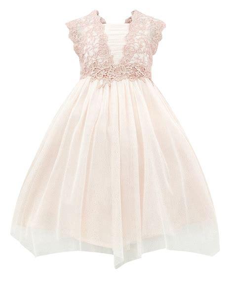Floral Applique Fashion At Monsoon by платье Estella Shimmer Flower Crochet розовый Monsoon