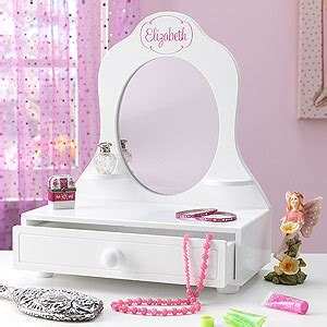 Childrens Vanity Mirror by Personalized Vanity Mirror Who S The Fairest