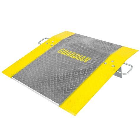 Star Blinds Aluminum Dock Plate By Guardian Loading Dock Equipment