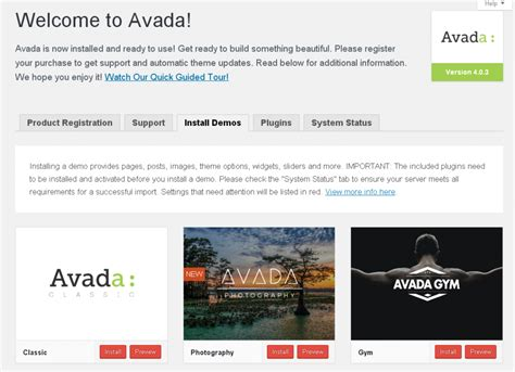 avada theme gfx installing wordpress demo content why still a challenge
