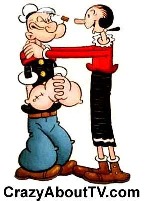 Popeye The Sailorman Series quot popeye the sailor quot 1960 brawl 1 20 tv