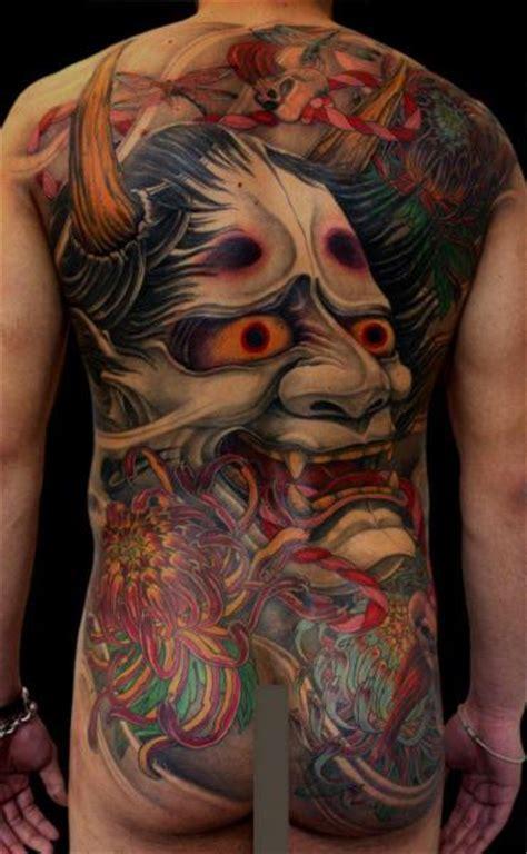 tattoo oriental demonio tatuaje brazo japoneses espalda demonio por dirty roses
