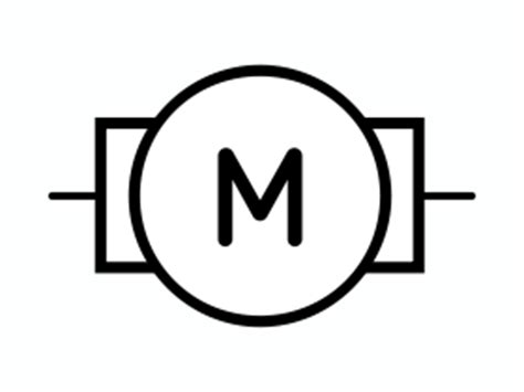 electric motor symbol schematic get free image about
