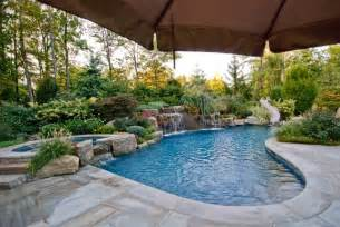 Swimming pool landscaping ideas bergen county northern nj traditional