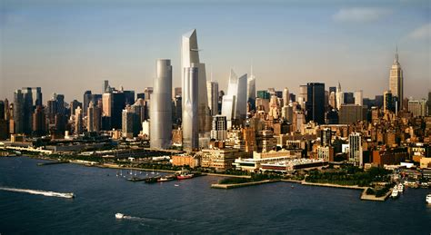 From Manhattan With hudson yards new neighborhood for west manhattan new