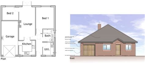 Garage Floor Plans self build houses amp kits pennine timber frame