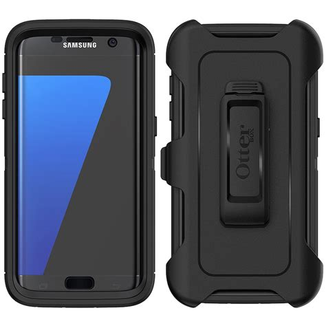 Otterbox Defender S7 Edge otterbox defender samsung galaxy s7 edge black