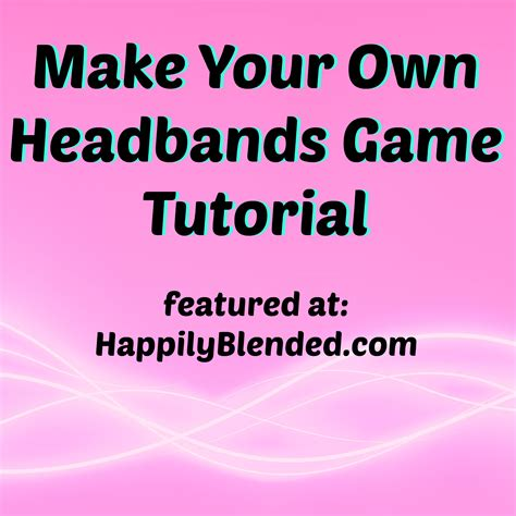 Make Your Own Flash Paper - headbands ideas